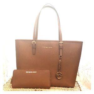 Michael Kors Brown Purse & wallet